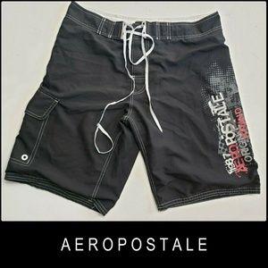 Aeropostale Men Board Shorts Swim Trunks Size 34